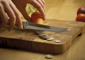 Cut food costs