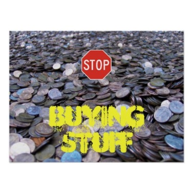 Stop buying stuff