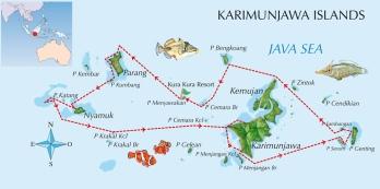 Karimunjava map