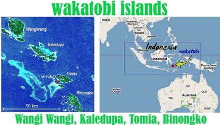 Wakatobi Map1