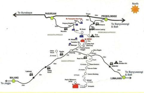 Bromo Mountain map2