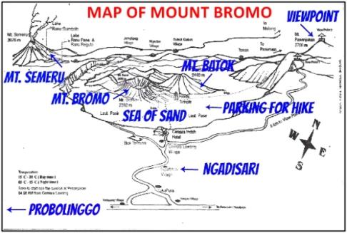 Bromo Mountain map3