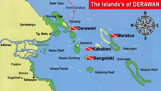 Berau Indonesia  City pictures : Maratua is part of Derawan Islands which also a part of Coral Triangle ...