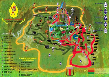 Safari Park map2