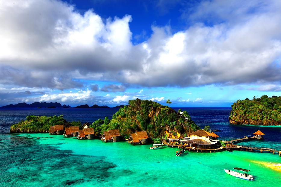 Raja ampat papua indonesia tourism - Raja ampat dive resort ...